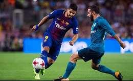 شاهد بالصور.. البارسا يسقط علي ملعبه أمام الريال بثلاثة أهداف لهدف وحيد