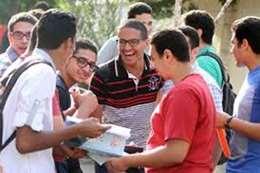 طلاب دور ثاني ثانوية عامة