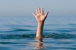 غرق طفلين