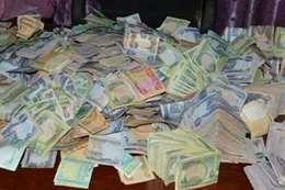الاموال التى عثر عليها