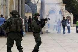 الانتهاكات الإسرائيلية في الحرم القدسي
