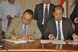 توقيع إتفاقية  لانشاء الكلية المصرية الصينية التكنولوجية التطبيقية