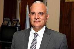 إبراهيم سالم قائمًا بعمل رئيس جامعة طنطا - صورة أرشيفية