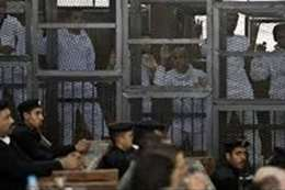محاكمة المتهمين بفض رابعة