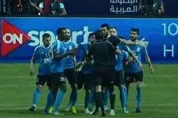 لاعبو الفيصلي يعتدون على إبراهيم نور الدين