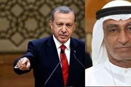 تدوينة  صادمة لمستشار ولي عهد أبو ظبي عن أردوغان