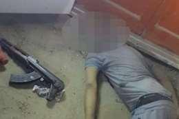 جثة إرهابى أكتوبر