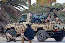 اشتباك مسلح في ليبيا (أرشيفية)