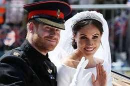 الأمير هاري و زوجته