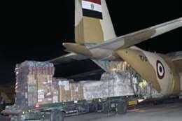 قافلة مساعدات مصرية