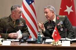 التعاون العسكري بين تركيا وأمريكا
