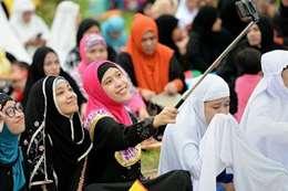 صلاة العيد فى ماليزيا