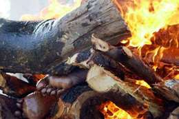 حرق جثة