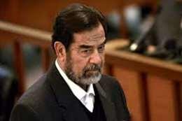 """آخر شيء حمله """" صدام"""" قبل الإعدام"""