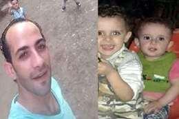 الأب وأبنائه الضحايا