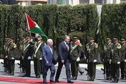 محمود عباس وعزت بيجوفيتش