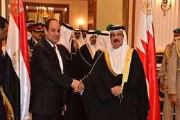 السيسي وعاهل البحرين