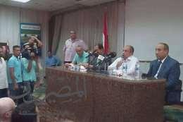 """وزير الزراعة من الغربية  : """" مصر قادمه للإمام فى محطات البحوث """""""