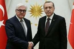 أردوغان ونظيره الألماني