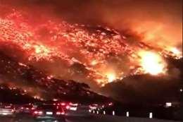 كاليفورنيا تكافح أكبر حرائق غابات في تاريخها