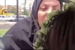 إيرانية تعتدي على أخرى