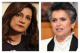 صفاء الهاشم ووزيرة الهجرة