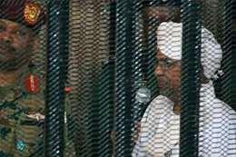 جانب من محاكمة الرئيس السوداني السابق عمر البشير