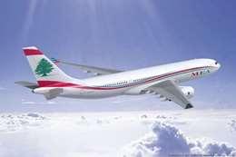 طائرة لبنانية