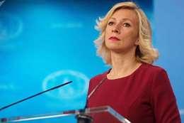 ماريا زاخاروفا المتحدثة باسم الخارجية الروسية