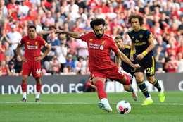 بالفيديو..«صلاح» يسجل «هدفين» في فوز ليفربول على آرسنال بثلاثية