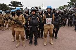 شرطيات مصريات