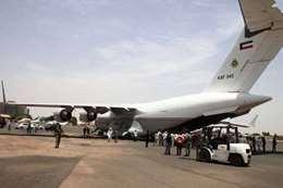 طائرة كويتية لإغاثة متضرري السيول بالسودان