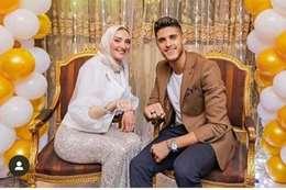 أحمد الشيخ وخطيبته