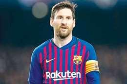«ميسي» يتحدث عن مُستقبله مع برشلونة