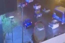 بالفيديو.. لحظة انفجار السيارة المفخخة أما معهد الأورام