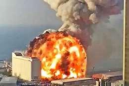 خبير متفجرات يكشف مفاجأة صادمة عن انفجار بيروت