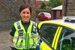 ضابطة ترتكب أعمالاً منافية للآداب داخل قسم الشرطة
