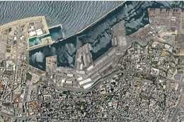 شاهد تفجير بيروت المدمر بصور الأقمار الصناعية