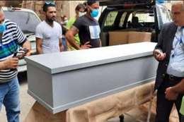 أهالي المصريين ضحايا انفجار بيروت