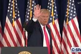 «ترامب» ينهي مؤتمره الصحفي بعد سؤال محرج من مراسلة