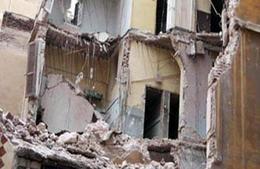 انهيار منزل دون إصابات بالوادي الجديد