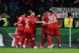 هدف مغربي يصعد بليفركوزن لثالث الدوري الألماني مؤقتا