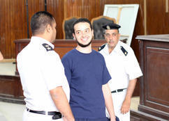 """رفض استشكال صديق نجل """"البلتاجي"""" على حبسه"""