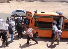 """مصدر: أطفال حادث """"المقطم"""" أصيبوا بجروح وكسور"""