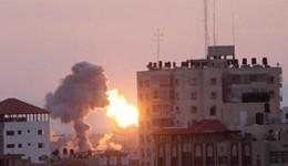 استشهاد فلسطينية حامل وابنتها في غارة إسرائيلية على غزة