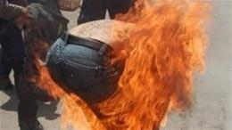 """بسبب """"العيدية"""".. زوج يشعل النار في نجله وزوجته"""