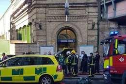 حادث مترو بارسونزجرين فى لندن