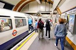 حادث قطار لندن