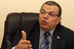 وزير القوي العاملة _محمد سعفان