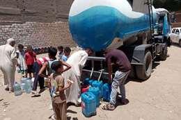 أزمة مياه الشرب بسوهاج